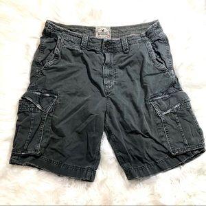 American Eagle Charcoal Shorts Size 36